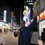 Peace and vodka love on the streets of Daegu