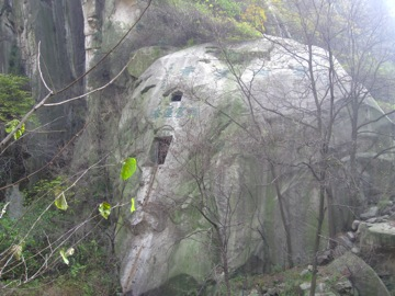 Hermit Cave in Hua Shan mountain