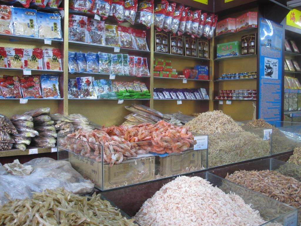 Dried Fish Store, Qingdao