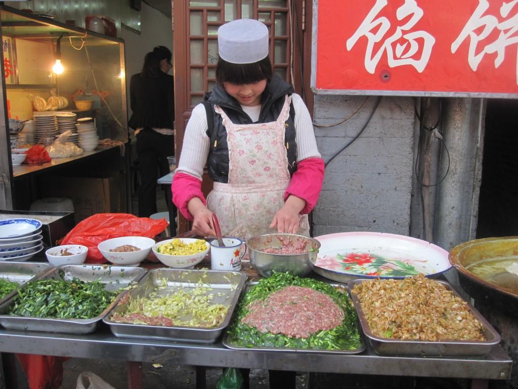 Lamb Pancake in Xi'an
