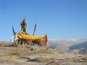 Prayer Flags in Litang