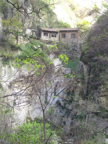 House on Hua Shan, China