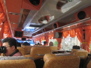 Bus to Taroko Gorge