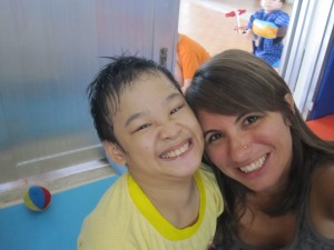 Loving the children at a Saigon orphanage