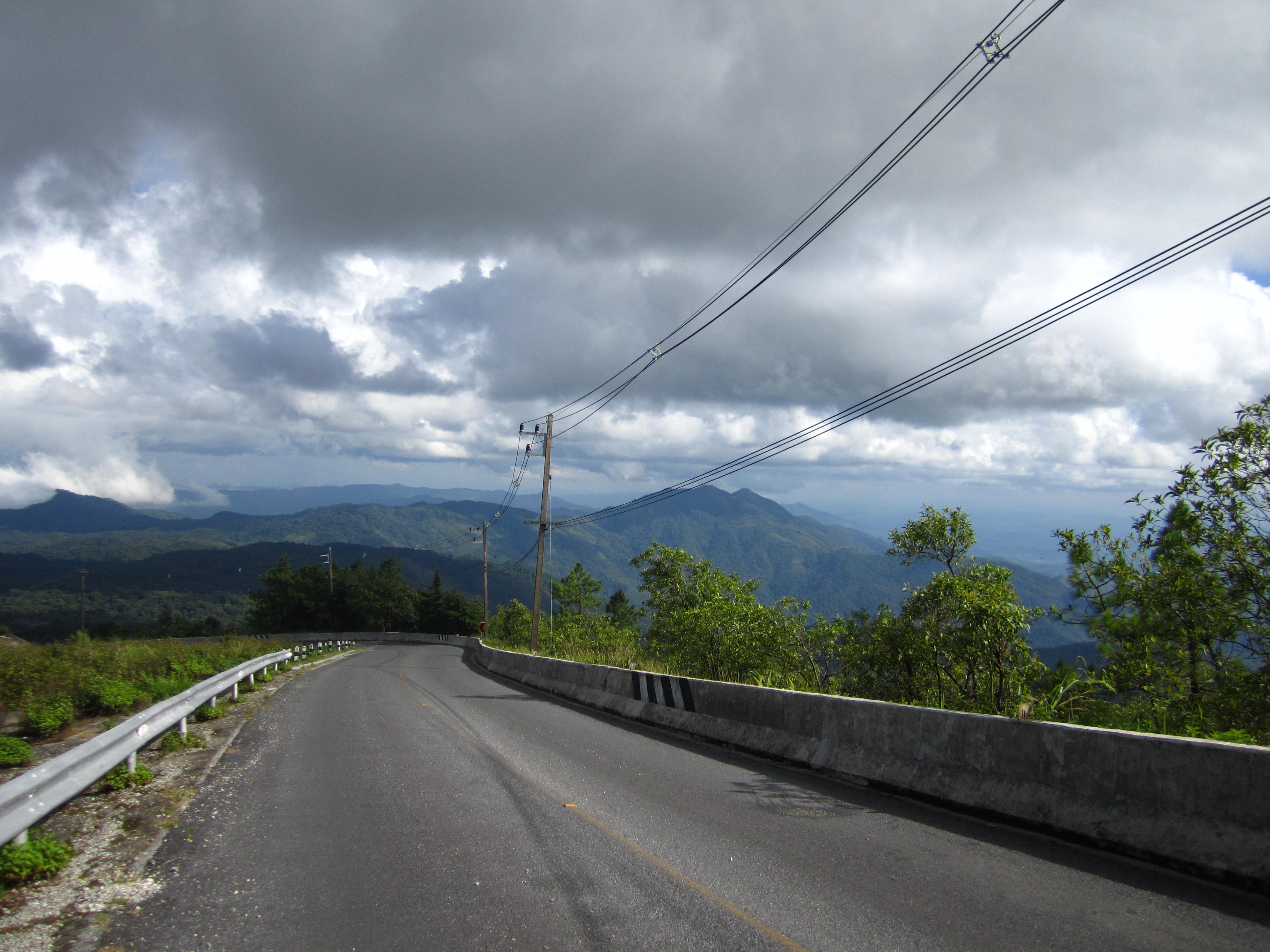 Solo scooting the Mae Hong Son loop