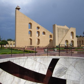 The Jantar Mantar (an astronomy observatory)