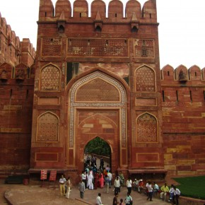 Gates to the Agra Fort