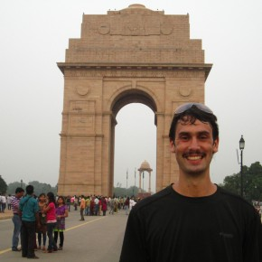 India Gate in honor of those who died in WWI