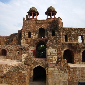 Purana Qila- Ruins of Shergarh (a city pre-dating Delhi)