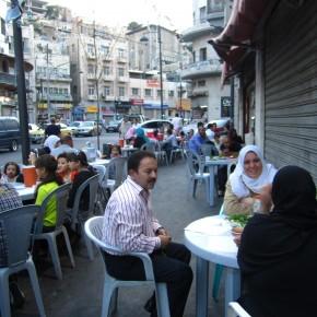 Dusk dinner during Ramadan