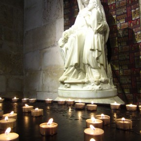 Virgin Mary in her Church