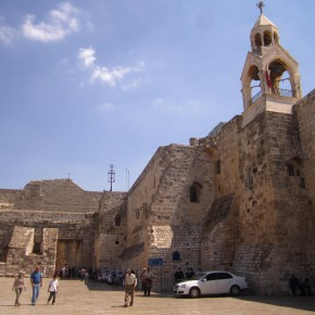 Church of the nativity - The manger had a facelift
